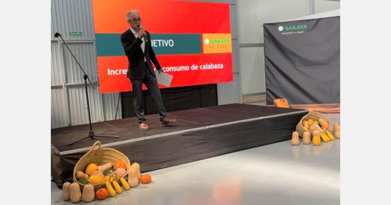 Sakata Seed Iberica presenta un progetto per aumentare il consumo di zucca in Europa